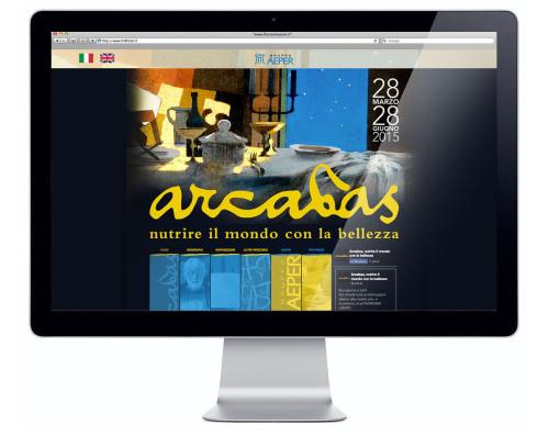 Sito Web desktop Arcabas Aeper